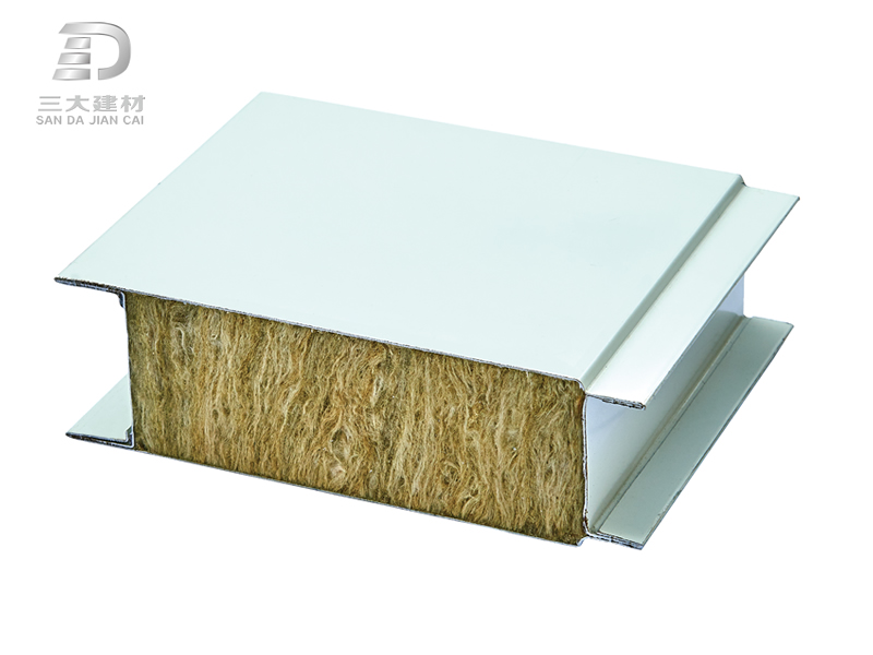 净化板系例-玻璃棉夹芯板-彩钢夹芯板材