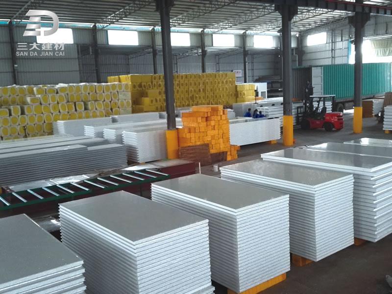 净化板系例-EPS泡沫墙板-彩钢夹芯板材