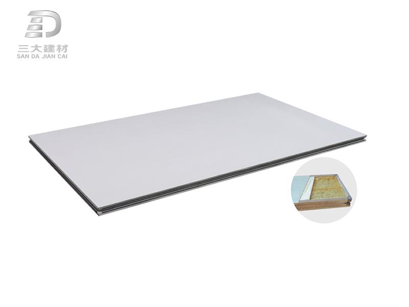 玻镁岩棉夹芯板
