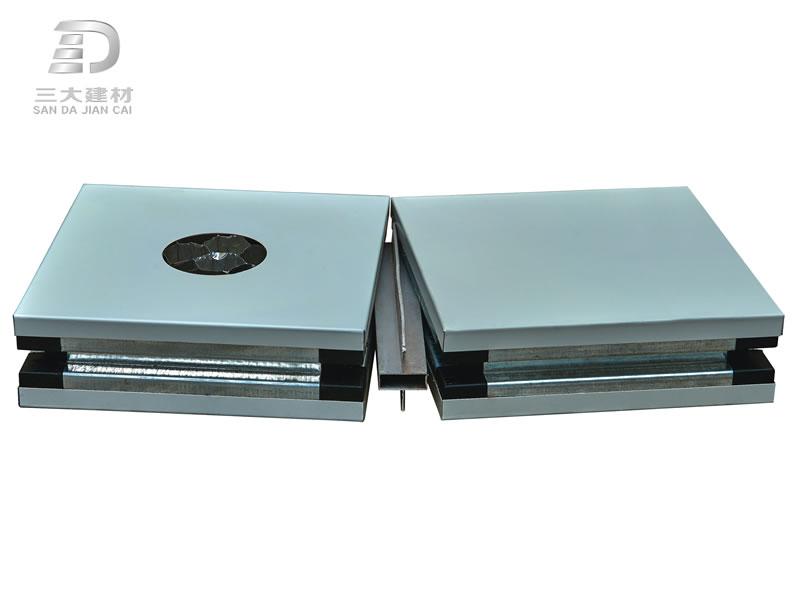 净化板系例-铝蜂窝手工板-中字铝连接彩钢夹芯板材