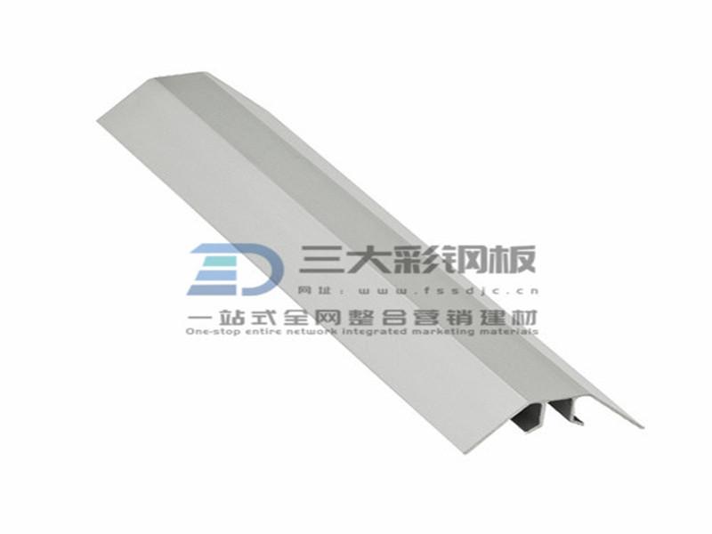 净化铝材-内圆弧底件铝件-彩钢夹芯板安装配件